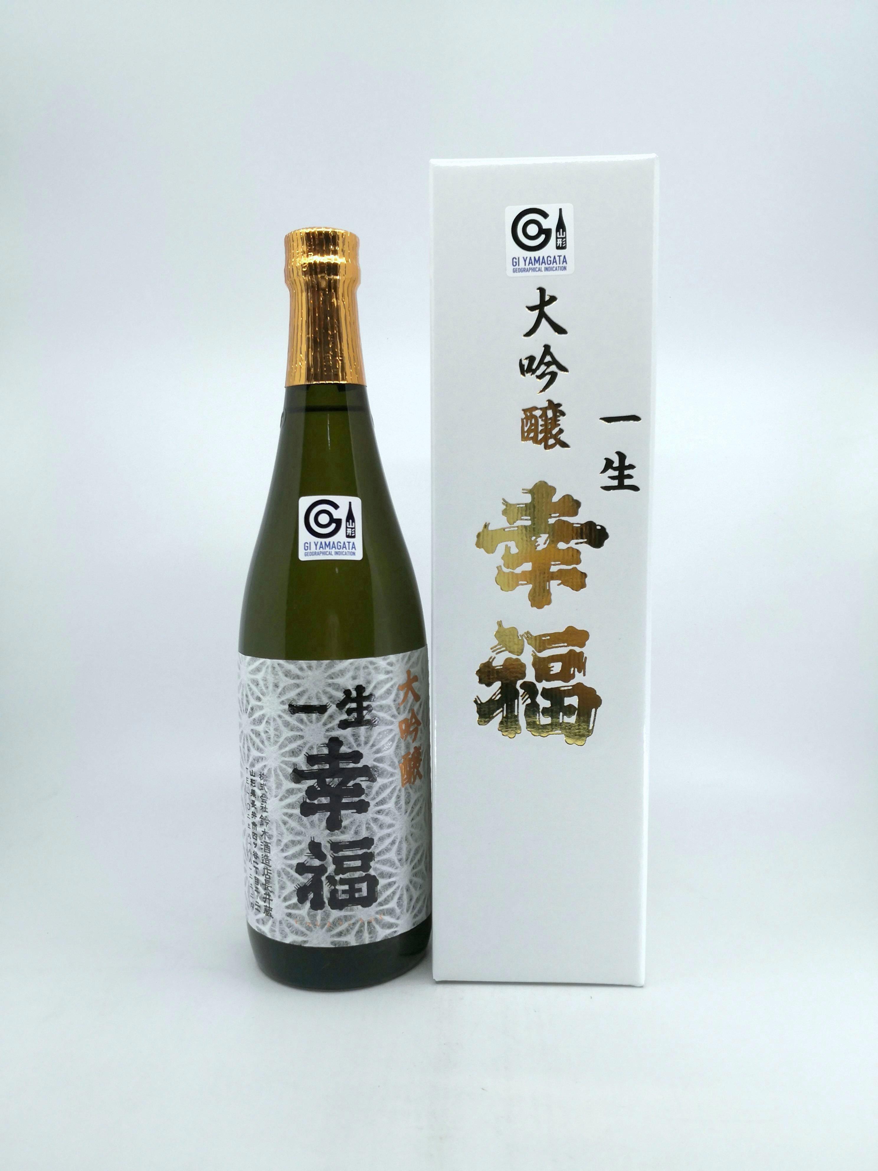 ISSHO KOUFUKU Dai-Ginjo 大吟釀 NV 720ML